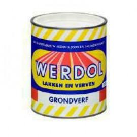 Werdol Grondverf wit 750ml.